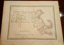 1860 Blackie Massachusetts State map