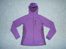 EDDIE BAUER FIRST ASCENT 0743 WOMENS SMALL HOODED PURPLE JACKET               B5