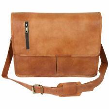 Genuine best value Vintage Leather Messenger Laptop Briefcase Satchel Bag