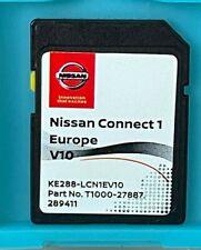 GENUINE NISSAN CONNECT 1 V10 MAPS LATEST SAT NAV SD CARD 2020/2021