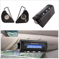 Wireless Bluetooth Caller ID LCD Display  Phone MP3 Sun Visor Handsfree Speaker