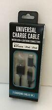 IPHONE IPAD IPOD UNIVERSAL CHARGE CABLE