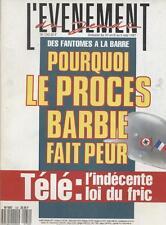 L'evenement Du Jeudi   N°130   30 au 6 mai 1987 : pourquoi le proces barbie fait