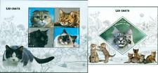 Cats Kittens Domestic Animals Pets Fauna MNH stamps set