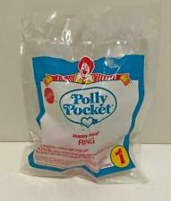 Vintage 1994 Bluebird Polly Pocket Ring McDonald's Happy Meal Toy New Sealed