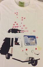 Monster in Milk Float(?) Unisex Pop Art T-Shirt - S/M