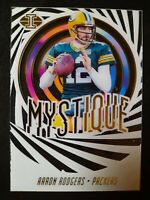 K14 AARON RODGERS 2019 ILLUSIONS SP MYSTIQUE ACETATE Green Bay Packers