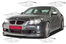 FRONT LIP SPOILER FRONT BUMPER SPLITTER FOR BMW E 60 E61 SERIES 5 03-07 FA083