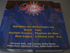 The Musical Story: Highlights aus Welterfolgen, 3CDs neuwertig, Cats,Pantom,Miss