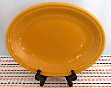 Fiestaware Marigold Medium Platter Fiesta Retired Oval Serving Platter NWT & Marigold Contemporary Fiesta China u0026 Dinnerware | eBay