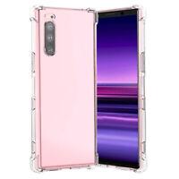 For Sony Xperia 10 ii 5 1 XZ2 L3 L2 XA2 Ultra Shockproof Crystal TPU Case Cover