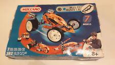 MECCANO 7 Model Set 4505-età 8 - 12-GARA AUTO ELICOTTERO SIGILLATO