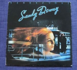 Sandy Denny LP Vinyl Album Rendezvous Island Records Original Release 1977