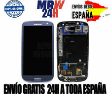 PANTALLA SAMSUNG GALAXY S3 LTE I9305 (LCD+TACTIL+MARCO) COLOR AZUL NUEVO