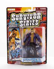 WWF The Rock Signature Series 4 Blue Edition Survivor Series 1999