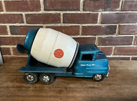 Vintage Toy Structo Ready-Mix Concrete Mixer Truck, 1960s