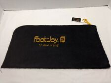Footjoy Classics #1 Shoe In Golf Used Black Golf Shoe Bag With Id Tag