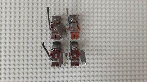 Lego Herr der Ringe / Hobbit Figuren aus 9471, 9476, 10237 - Lurtz, 3x Uruk-Hai