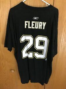 Marc-Andre Fleury T-Shirt Size XL