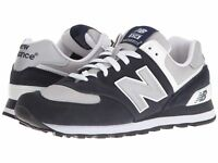 NEW BALANCE Mens 'M574' Navy Gray Classic Sneakers Sz 7.5-14 D NEW! 229772