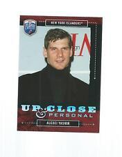 2006-2007 BE A PLAYER HOCKEY UP CLOSE & PERSONAL ALEXEI YASHIN #UC4 426/999
