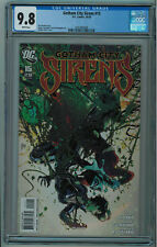 GOTHAM CITY SIRENS #15 CGC 9.8 BEST CGC COPY HIGH GRADE WHITE PGS 2010