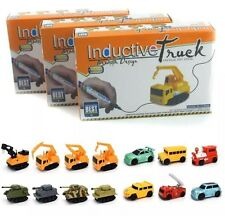 Follow Any Drawn Line Magic Pen Inductive Toy Car Truck Bus Tank Model Gifts UK