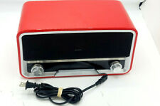 Philips ORD7100R/37 Retro Style Original Red Radio / iPod 30 Pin Dock Speaker