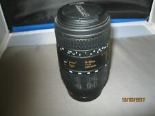 QUANTARAY 70-300 1; 4-5.6 LDO MACRO CAMERA LENS FOR MINOLTA AF USED
