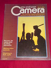YOU AND YOUR CAMERA #11 - TAKING SILHOUETTES - July 5 1979
