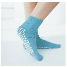 Unisex SLIPPER SOCKS, Double Tread - Non Slip, Skids Falls Resistant - All Sizes