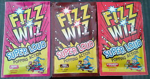 Retro Fizz Wiz Popping Candy Strawberry Cola 3 9 18 21 Full Box Party Bag Filler