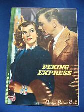1954 PEKING EXPRESS Japan VINTAGE PROGRAM Joseph Cotten Corinne Calvet