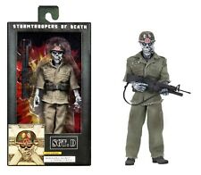"""S.O.D. Sgt D Stormtroopers of Death 8"""" Clothed Figure Anthrax NECA"""