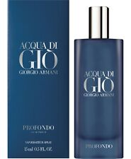 ACQUA DI GIO PROFONDO by Giorgio Armani 15 ml EDP Spray NEW SEALED 2020 Release!