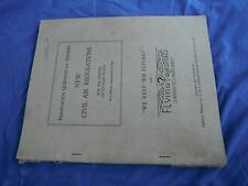 New Civil Air Regulations, 1945 edition,We Keep Em Flying