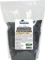 Viva Doria Whole Black Pepper - Tellicherry Peppercorn for Grinder Refill, 3 lb