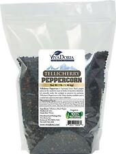 Viva Doria Whole Black Pepper - Tellicherry Peppercorn for Grinder Refill, 3 lb