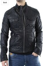 Superdry Hero Falcon leather jacket Rare One of a kind Small