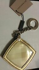 New rare Burberry keychain Factory original Burberry Keychain w mirror