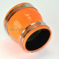 Silicone Hose Straight Reducer Orange SELECT SIZE / CLAMPS Demon Motorsport
