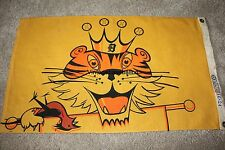 RARE original 1968 Detroit Tigers World Series Stadium Pennant Banner Al KALINE