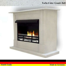 Ethanol Cheminee Fireplace Caminetto Chimenea Emily Deluxe Royal Granit Gris