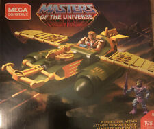 Mega Heroes Masters of the Universe WIND RAIDER ATTACK VEHICLE New In Hand!