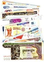 JOLI LOT Collection 40 Billets TOUS DIFFERENTS NEUF