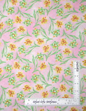 Spring Daffodil Fabric - Flowers Daffodils Easter Spring Floral Oakhurst - Yard