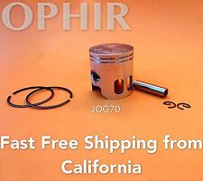 70cc Piston Ring Set 47mm w/10mm Pin for Jog Minarelli 2 Stroke Scooter Moped US
