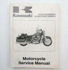 Kawasaki Vulcan1500 Nomad Fi VN1500 Classic Tourer Fi 2000 Service Manual