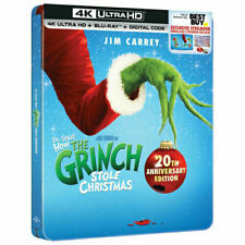 Dr. Seuss' How the Grinch Stole Christmas (steelbook) [New 4K