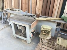ROBLAND E300 2500MM SLIDING TABLE PANELSAW -USED - FULL WORKING CONDITION